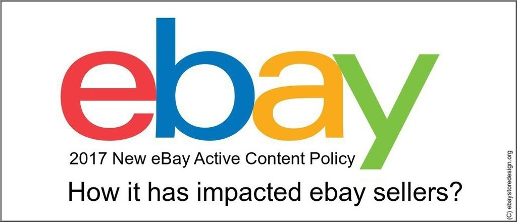 2017 New eBay Active Content Policy
