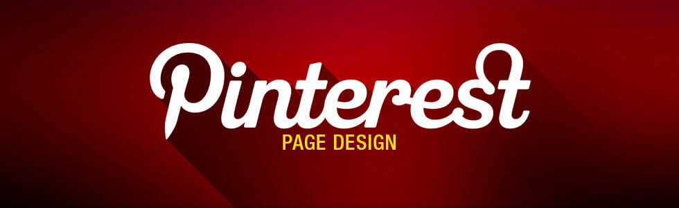 Pinterest page design by ebaystoredesign