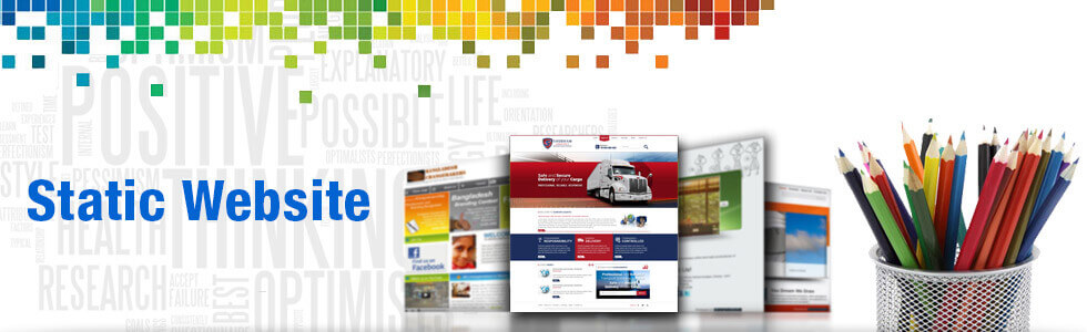 Static Website Design by ebaystoredesign