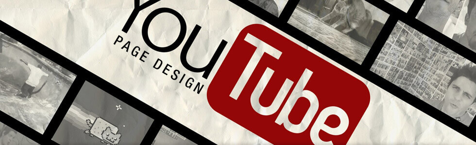 Custom YouTube page design by ebaystoredesign