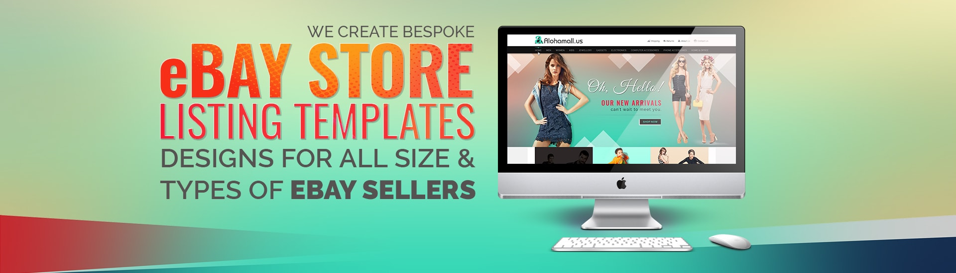 Mobile Friendly eBay Store & Listing Template
