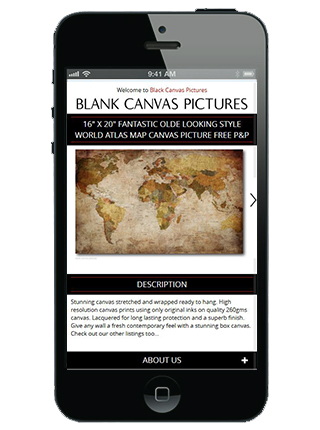 Blank Canvas prints