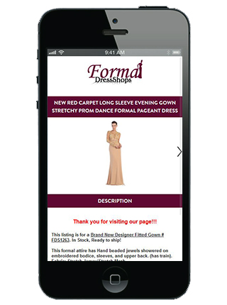 Formal Dress Shop